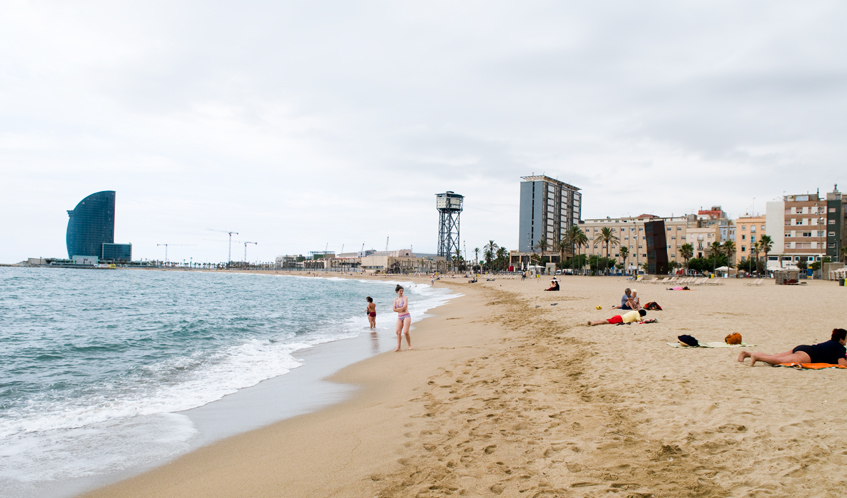 Barceloneta and the Ports