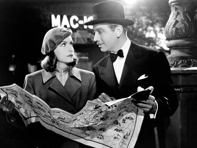 Greta Garbo and Melvyn Douglas in Ninotchka