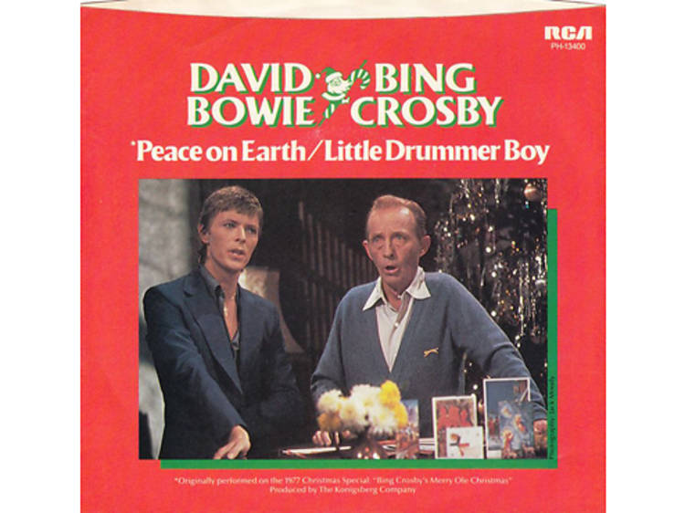 """""""The Little Drummer Boy/Peace on Earth"""" by Bing Crosby and David Bowie"""