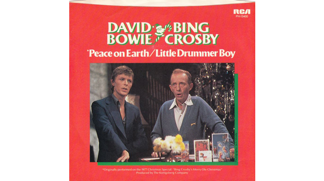 """The Little Drummer Boy/Peace on Earth"" by Bing Crosby and David Bowie"