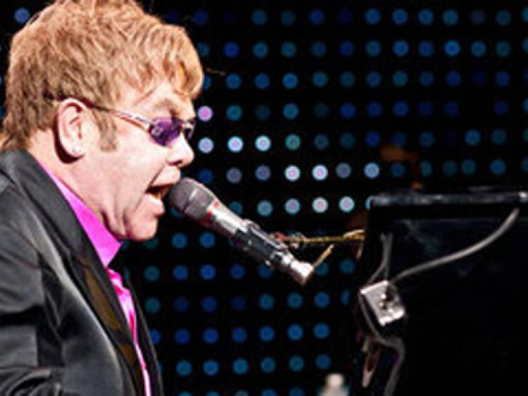 """Step Into Christmas"" by Elton John"