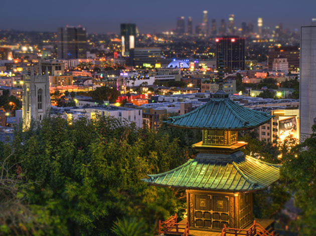 Pagoda Bar at Yamashiro Hollywood