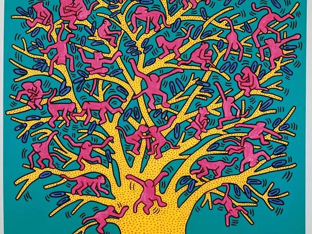 ('The Tree of Monkeys', septembre 1984 / Courtesy Fondazione Orsi / © Keith Haring Foundation)