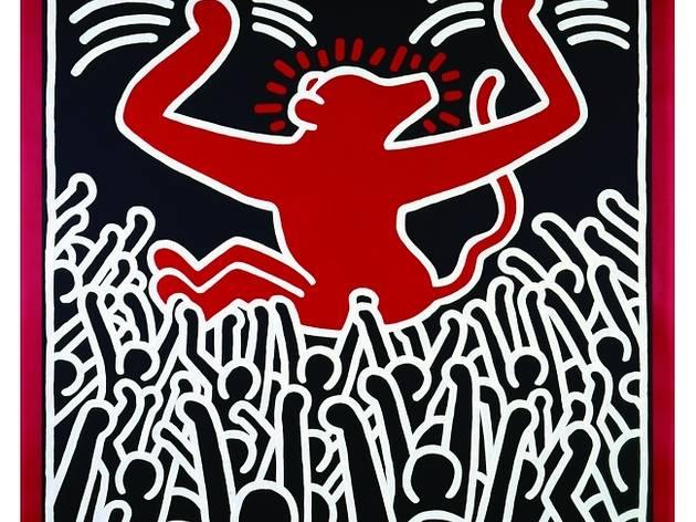 ('Monkey', 1982 / © Keith Haring Foundation)