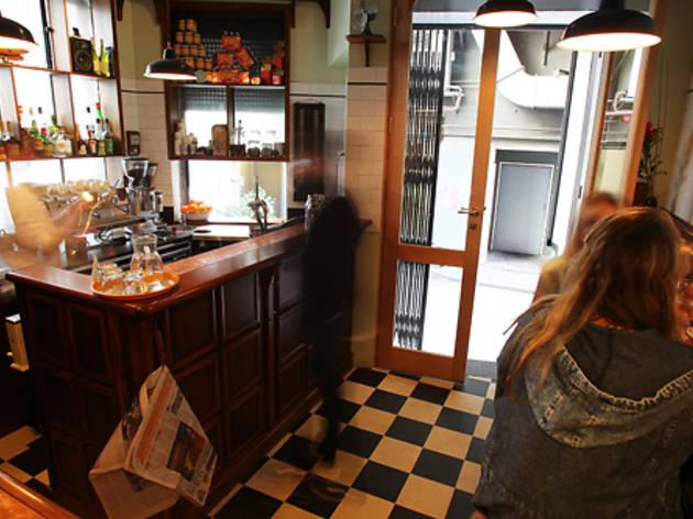Melbourne, Australia (An 'Americano' at Bar Americano)