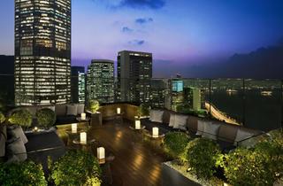 Hong Kong, China (A 'Red Sky Colour' at Sugar)