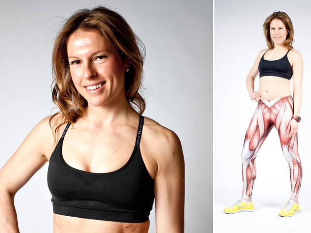 Ariane Hundt, founder of Brooklyn Bridge Boot Camp