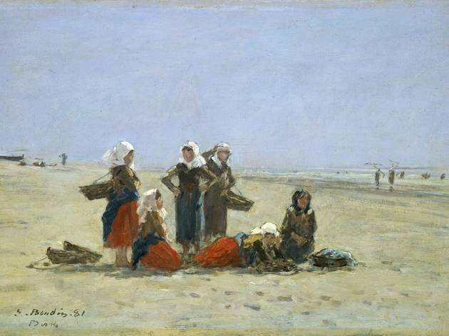 ('Pêcheuses sur la plage de Berck', 1881 / © Courtesy Galerie nationale d'Art, Washington)