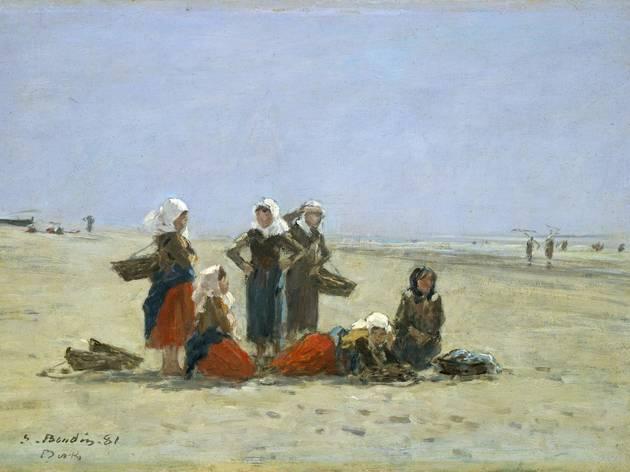 ('Pêcheuses sur la plage de Berck', 1881 / © Courtesy Galerie nationale d'Art, Washington)