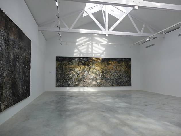 (Vue de l'exposition d'Anselm Kiefer, octobre 2012 / © TB - Time Out)