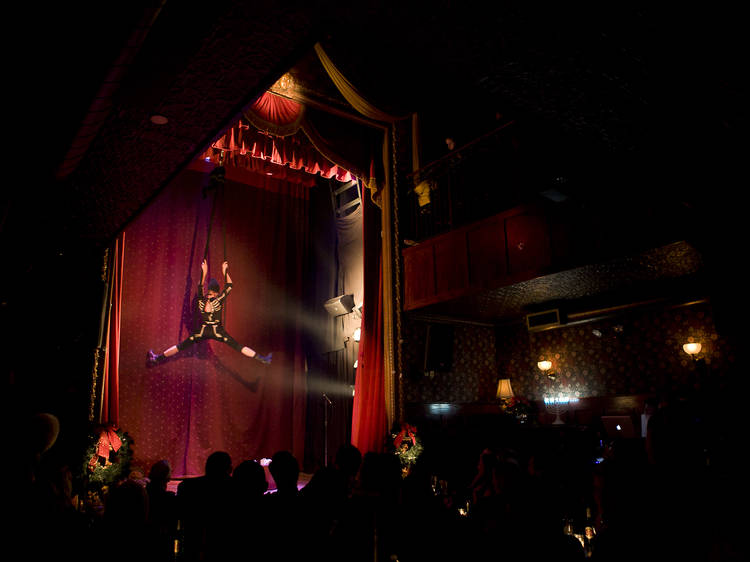See a burlesque show at the Slipper Room