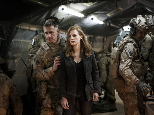 Zero Dark Thirty (de Kathryn Bigelow, avec Jessica Chastain, Joel Edgerton et Chris Pratt)