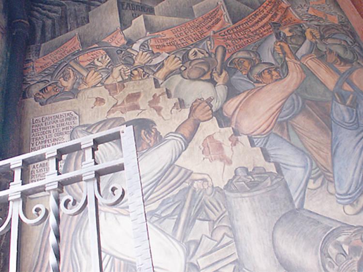 Los murales del Mercado Abelardo L. Rodríguez