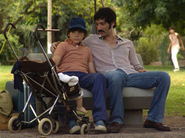 Teo Gutierrez Moreno, left, and Ernesto Alterio in Clandestine Childhood