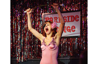 "Francine ""The Lucid Dream,"" founder of the Pink Room: David Lynch Burlesque"