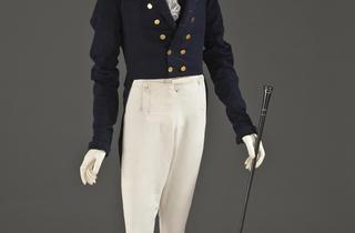 (Veste, Angleterre, et pantalon, Ecosse, 1825-1830 / © 2010 Museum Associates/LACMA)