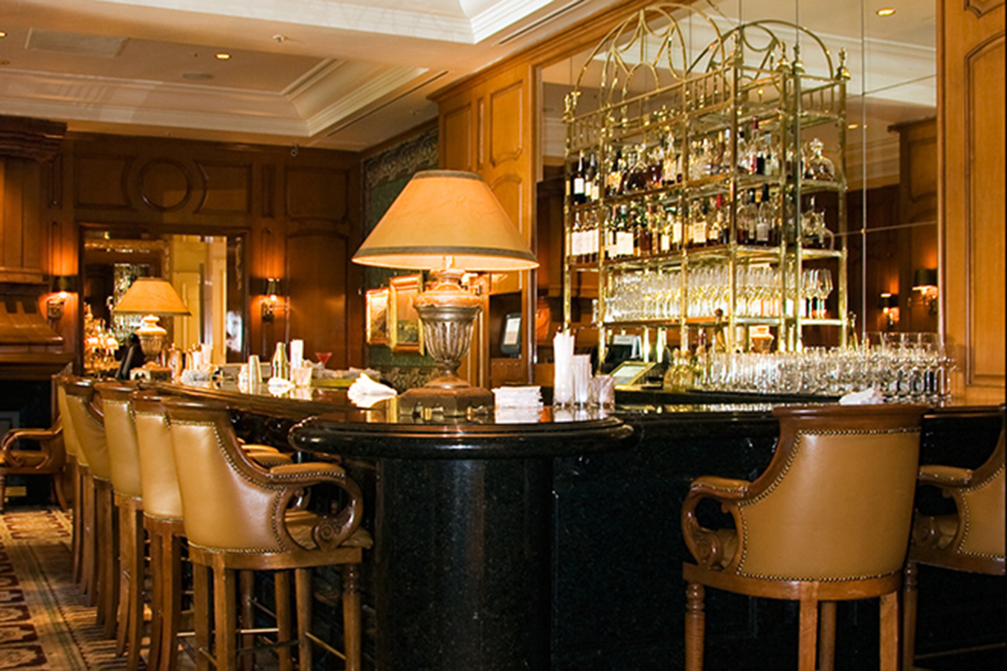 The Club Bar at the Peninsula Beverly Hills