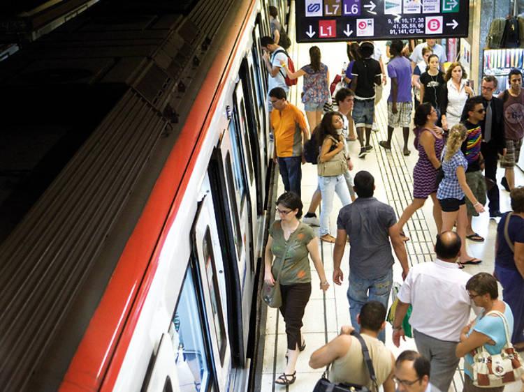 Transport públic pel Sónar