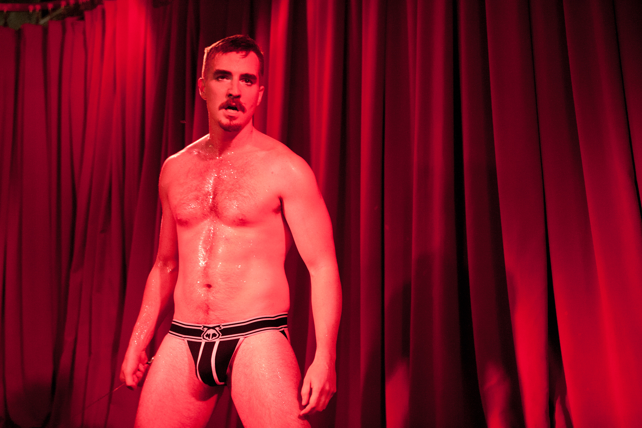 See gents gyrate at the Second Annual New York Boylesque Festival