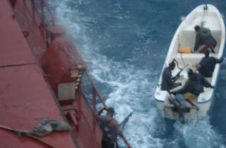 Somali pirates patrol the waters in Stolen Seas