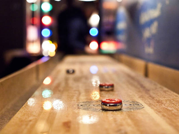 Shuffleboard at Diamond Bar