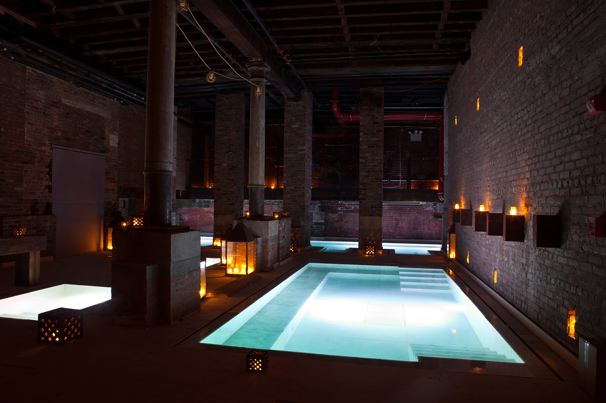 New York spas with hot pools, saunas and steam rooms to warm you up