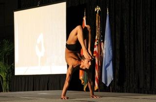 Posing Toward the Gold: Regional Yoga Competition