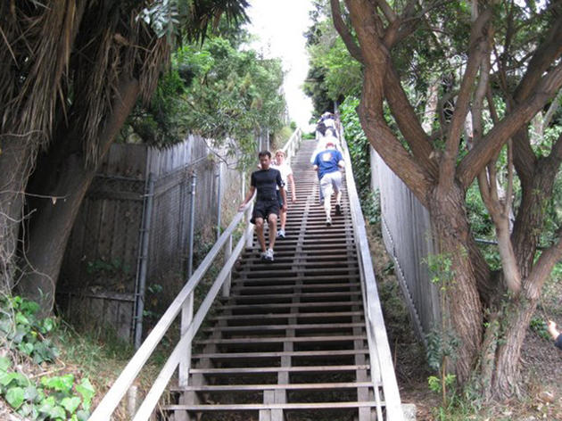Take a hike—a stair hike