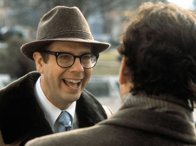 Stephen Tobolowsky and Bill Murray in Groundhog Day