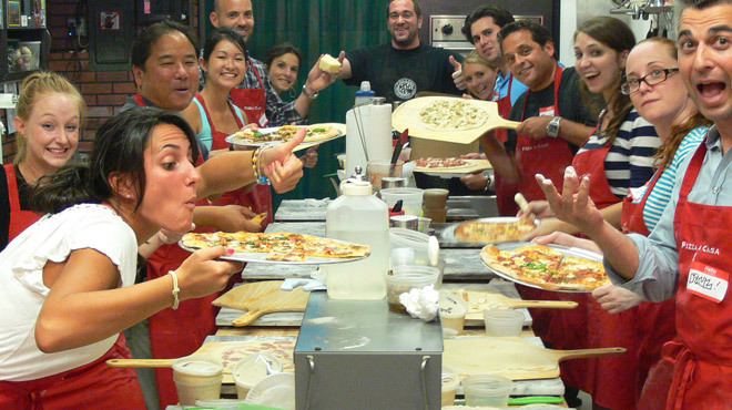 Pizza a Casa Pizza School