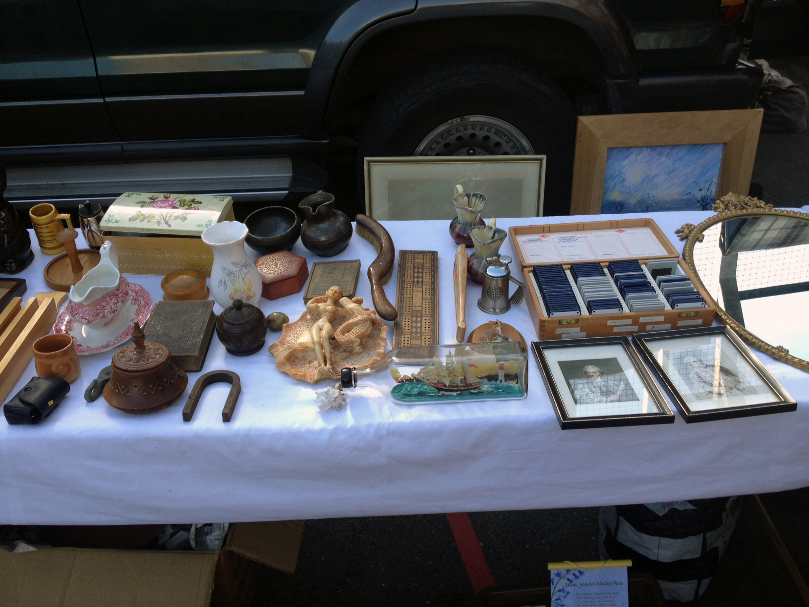 Princess May Car boot, Dalston