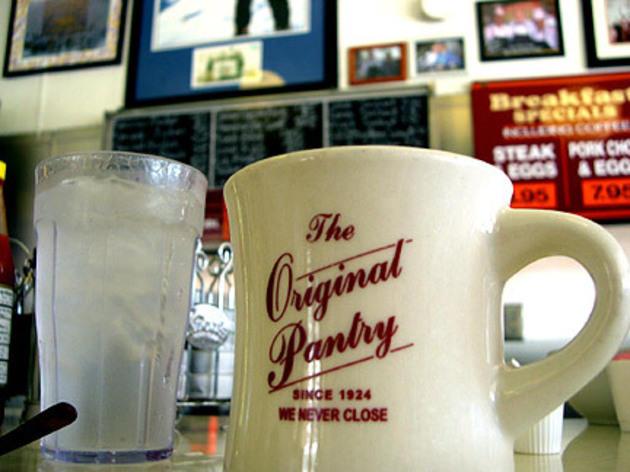 Dine at the Original Pantry