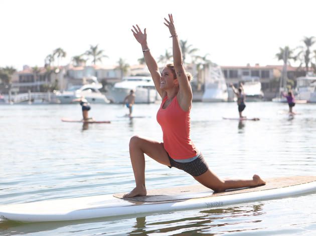 Stand-up Paddle-boarding (SUP) Yoga