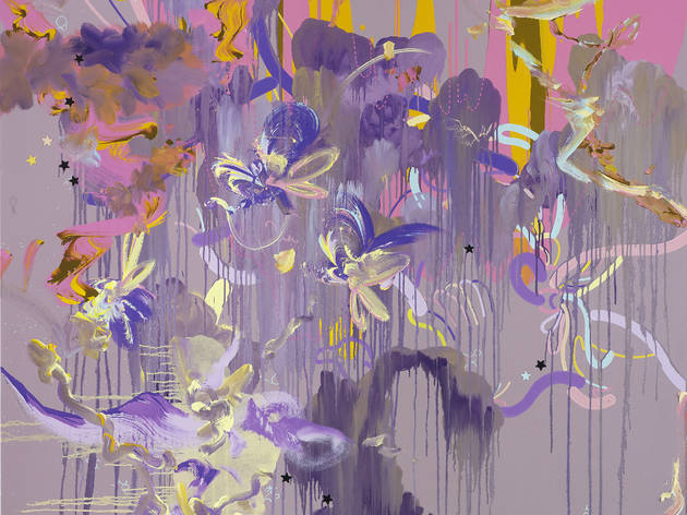 Fiona Rae: New Paintings
