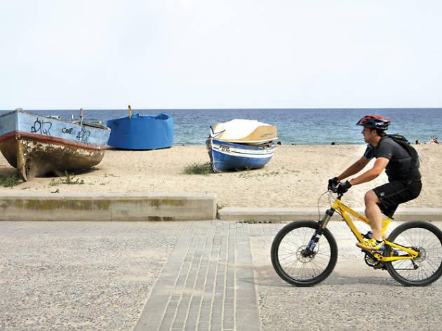 ruta en bicicleta maresme
