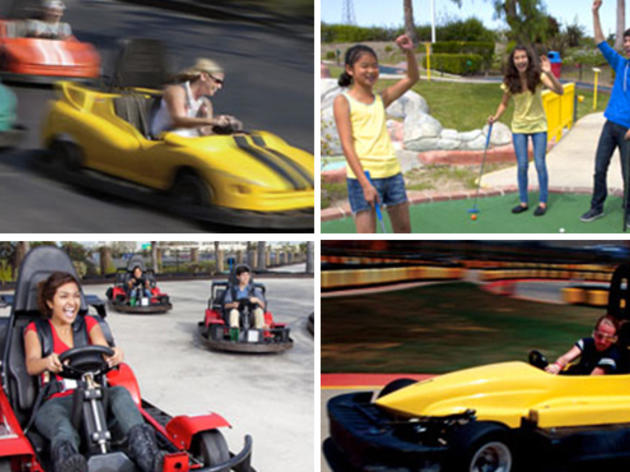 Tap into your inner kid at Speed Zone