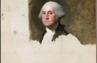 Arnaque à l'américaine ('George Washington' de Gilbert Stuart)