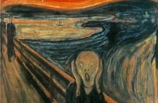 Au voleur ! ('Le Cri' d'Edvard Munch)