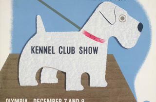 Kennel Club Show ('Kennel Club Show', 1938, by Tom Eckersley and Eric Lombers, © London Transport Museum)
