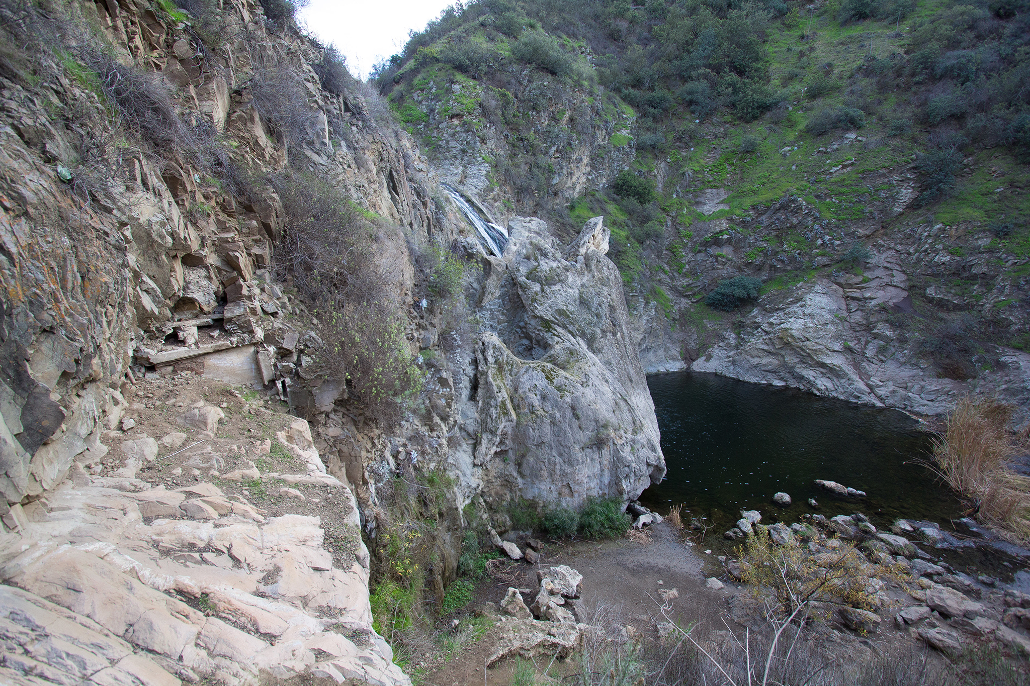 Paradise Falls in Wildwood Park, Thousand Oaks