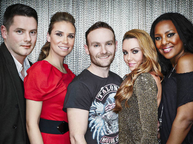 THE BIG REUNION CHRISTMAS PARTY: Five + Atomic Kitten + Liberty X + B*Witched +