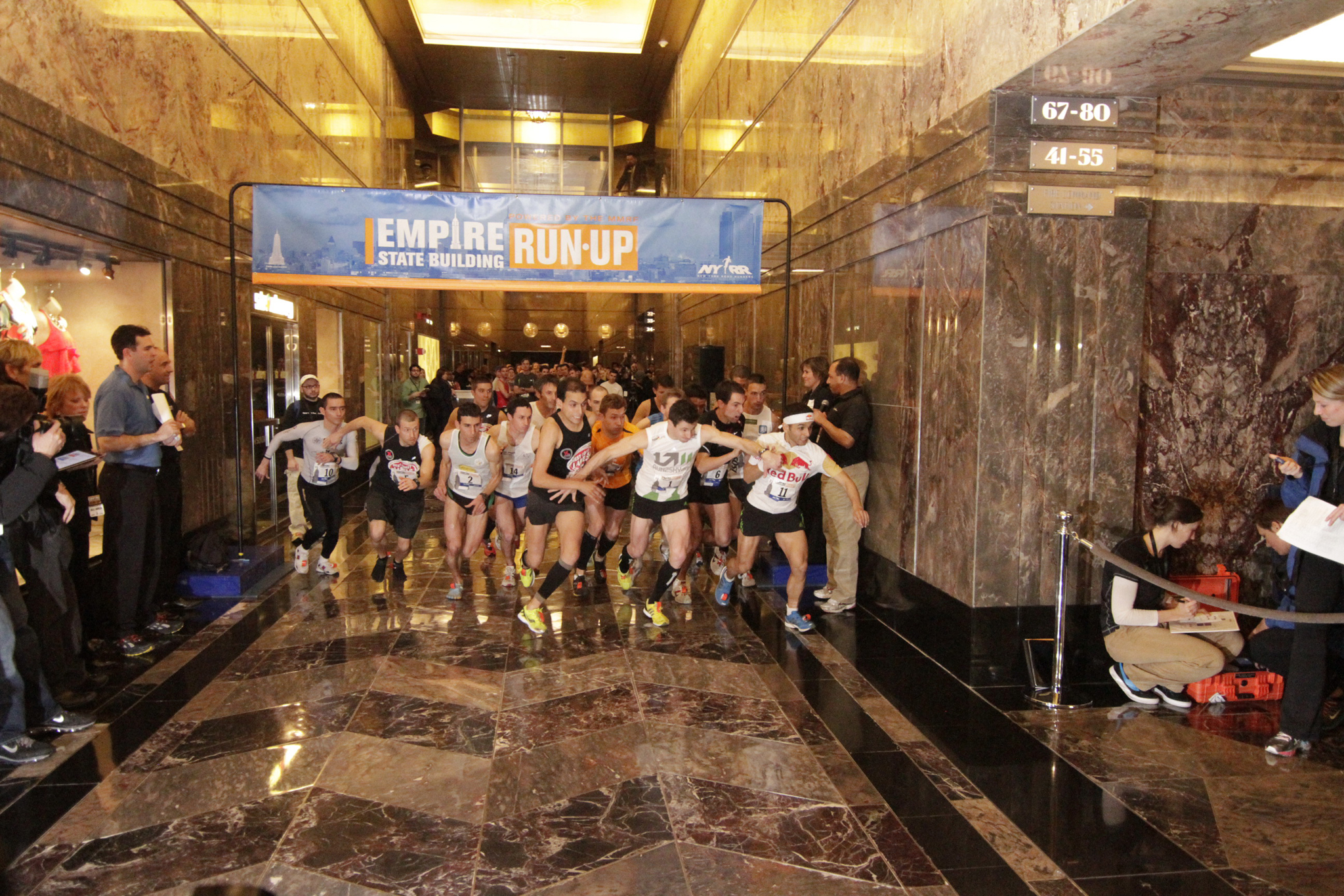 Feel the burn at the Empire State Building Run-Up