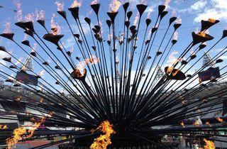 Olympic Cauldron (Designed by Heatherwick Studio)