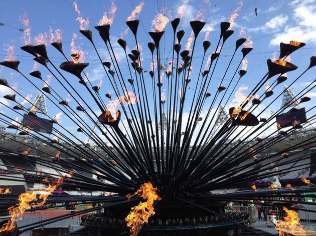 Olympic Cauldron (Designed by Heatherwick Studio)
