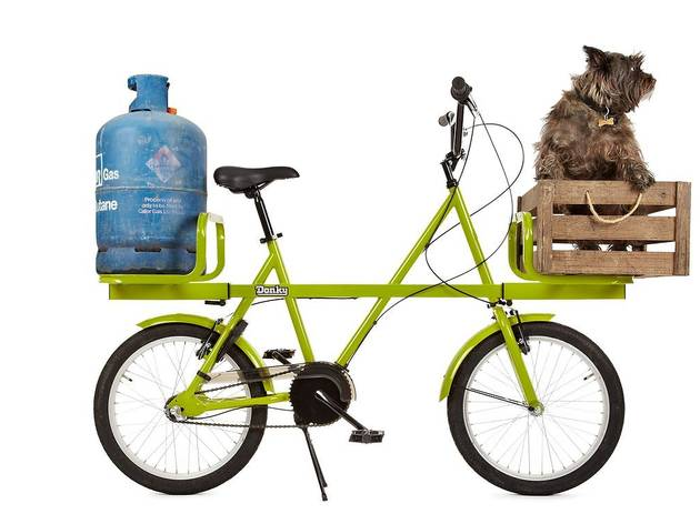 Donkey Bicycle (Designed by Ben Wilson; photo: John Selby)