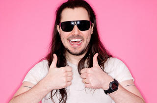 Santos Super Bowl Party Halftime Show by Andrew W.K.