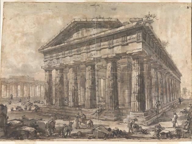 Piranesi's Paestum: Master Drawings Uncovered
