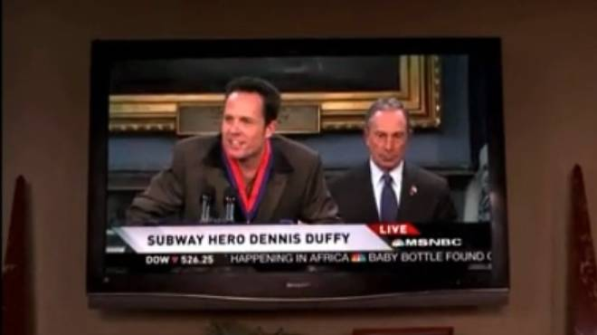 Mayor Bloomberg on 30 Rock