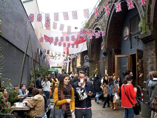 Maltby Street Market is back this weekend – but it won't be selling street food