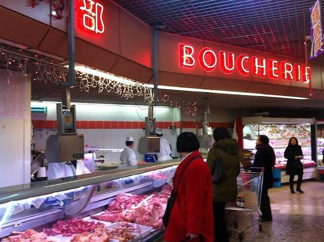 Paris Store (Rayon boucherie / © Barbara Chossis)